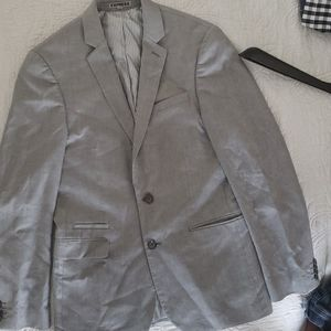 Light gray express suit